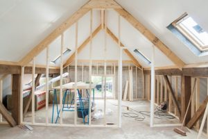 Frame renovations in home